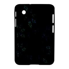 Fractal Pattern Black Background Samsung Galaxy Tab 2 (7 ) P3100 Hardshell Case