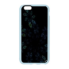 Fractal Pattern Black Background Apple Seamless iPhone 6/6S Case (Color)