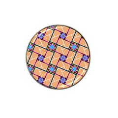 Overlaid Patterns Hat Clip Ball Marker (10 pack)