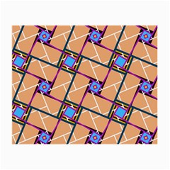 Overlaid Patterns Small Glasses Cloth