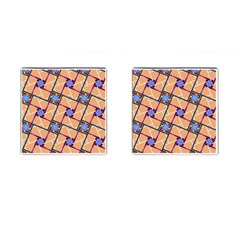 Overlaid Patterns Cufflinks (square)