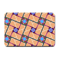 Overlaid Patterns Small Doormat