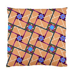 Overlaid Patterns Standard Cushion Case (Two Sides)