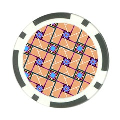Overlaid Patterns Poker Chip Card Guard (10 Pack)