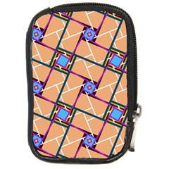 Overlaid Patterns Compact Camera Cases