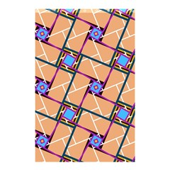 Overlaid Patterns Shower Curtain 48  x 72  (Small)