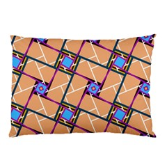 Overlaid Patterns Pillow Case (two Sides)
