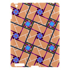 Overlaid Patterns Apple Ipad 3/4 Hardshell Case