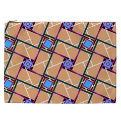 Overlaid Patterns Cosmetic Bag (XXL)