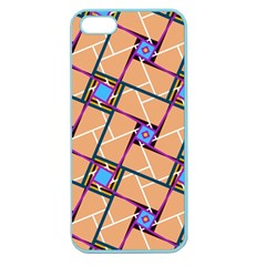 Overlaid Patterns Apple Seamless iPhone 5 Case (Color)