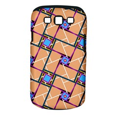 Overlaid Patterns Samsung Galaxy S III Classic Hardshell Case (PC+Silicone)