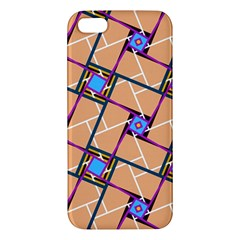 Overlaid Patterns Apple iPhone 5 Premium Hardshell Case