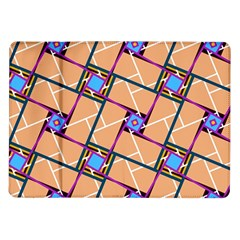 Overlaid Patterns Samsung Galaxy Tab 10.1  P7500 Flip Case