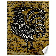 Vintage rooster  Canvas 18  x 24