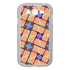 Overlaid Patterns Samsung Galaxy Grand DUOS I9082 Case (White)