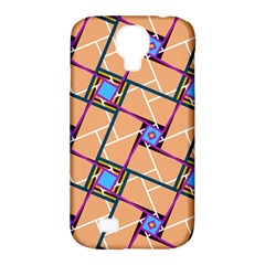 Overlaid Patterns Samsung Galaxy S4 Classic Hardshell Case (PC+Silicone)