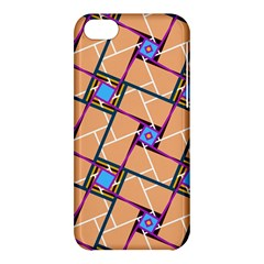 Overlaid Patterns Apple Iphone 5c Hardshell Case