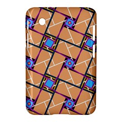 Overlaid Patterns Samsung Galaxy Tab 2 (7 ) P3100 Hardshell Case