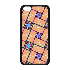 Overlaid Patterns Apple iPhone 5C Seamless Case (Black)