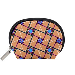 Overlaid Patterns Accessory Pouches (Small)