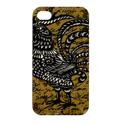 Vintage rooster  Apple iPhone 4/4S Hardshell Case