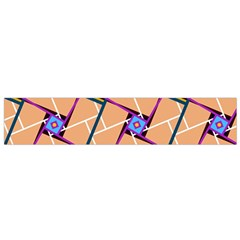 Overlaid Patterns Flano Scarf (Small)