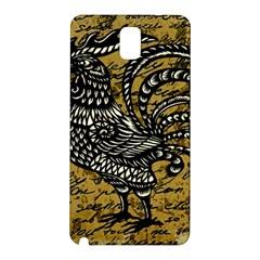 Vintage rooster  Samsung Galaxy Note 3 N9005 Hardshell Back Case