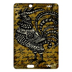 Vintage rooster  Amazon Kindle Fire HD (2013) Hardshell Case