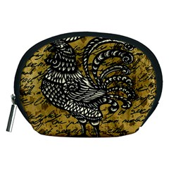 Vintage rooster  Accessory Pouches (Medium)