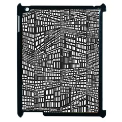 Recursive Subdivision Between 5 Source Lines Screen Black Apple Ipad 2 Case (black)