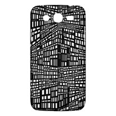Recursive Subdivision Between 5 Source Lines Screen Black Samsung Galaxy Mega 5.8 I9152 Hardshell Case