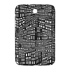 Recursive Subdivision Between 5 Source Lines Screen Black Samsung Galaxy Note 8.0 N5100 Hardshell Case