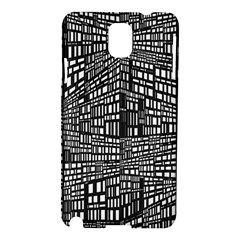 Recursive Subdivision Between 5 Source Lines Screen Black Samsung Galaxy Note 3 N9005 Hardshell Case
