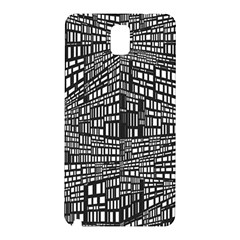 Recursive Subdivision Between 5 Source Lines Screen Black Samsung Galaxy Note 3 N9005 Hardshell Back Case
