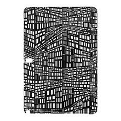 Recursive Subdivision Between 5 Source Lines Screen Black Samsung Galaxy Tab Pro 10.1 Hardshell Case