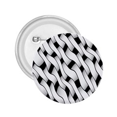 Black And White Pattern 2.25  Buttons