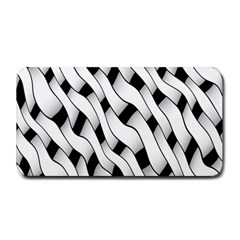 Black And White Pattern Medium Bar Mats