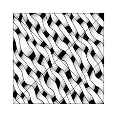 Black And White Pattern Acrylic Tangram Puzzle (6  x 6 )