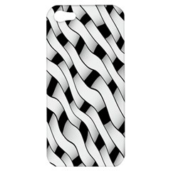 Black And White Pattern Apple iPhone 5 Hardshell Case