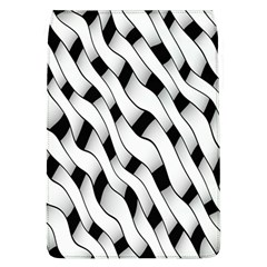 Black And White Pattern Flap Covers (L)