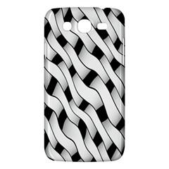 Black And White Pattern Samsung Galaxy Mega 5.8 I9152 Hardshell Case