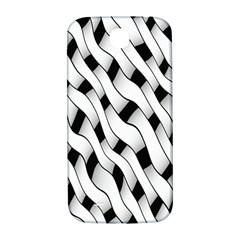 Black And White Pattern Samsung Galaxy S4 I9500/I9505  Hardshell Back Case