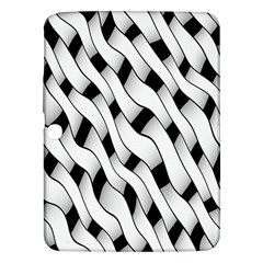 Black And White Pattern Samsung Galaxy Tab 3 (10.1 ) P5200 Hardshell Case
