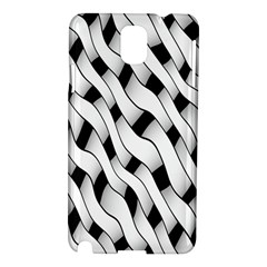 Black And White Pattern Samsung Galaxy Note 3 N9005 Hardshell Case