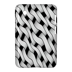 Black And White Pattern Samsung Galaxy Tab 2 (7 ) P3100 Hardshell Case