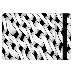 Black And White Pattern iPad Air Flip