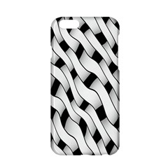 Black And White Pattern Apple iPhone 6/6S Hardshell Case