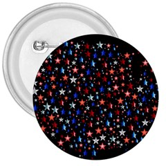America Usa Map Stars Vector  3  Buttons