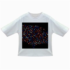 America Usa Map Stars Vector  Infant/Toddler T-Shirts