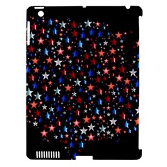 America Usa Map Stars Vector  Apple iPad 3/4 Hardshell Case (Compatible with Smart Cover)